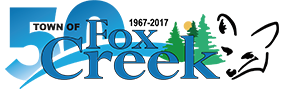 Town of Fox Creek Sticky Logo