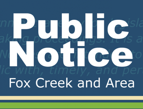 Public Notice – Public Hearings – July 23
