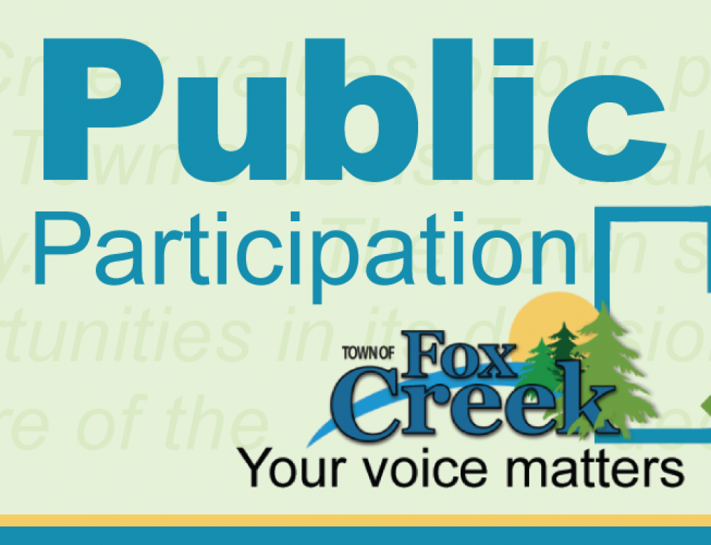 Public Participation Policy. Letting you know, how we'll let you know.