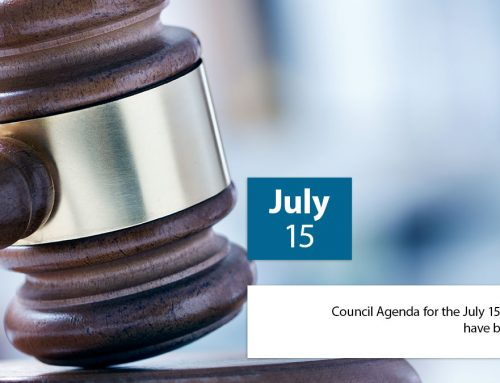 Council Meeting July 15, 2019 Agenda is uploaded