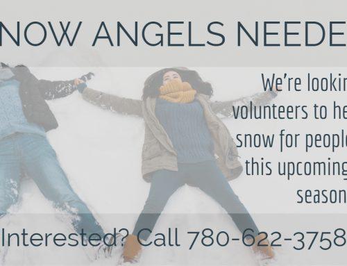 Snow Angels Needed