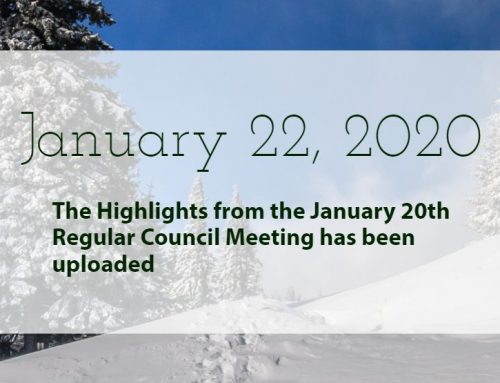 Council Highlights: January 20, 2020