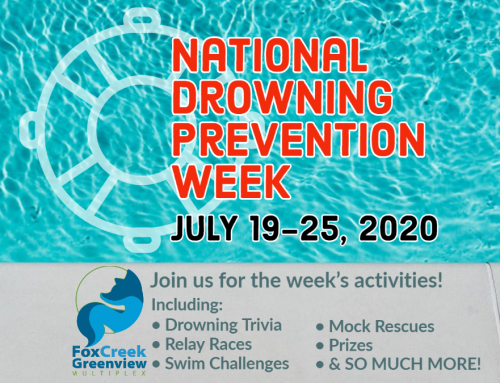 NATIONAL DROWNING PREVENTION WEEK: July 19-25, 2020