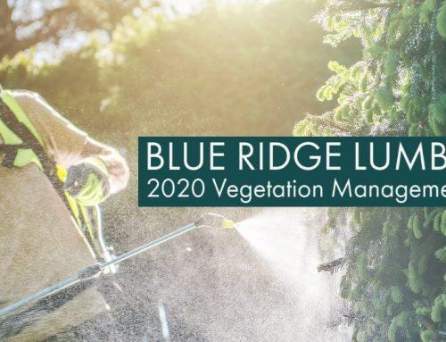 2020 Vegetation Management Program
