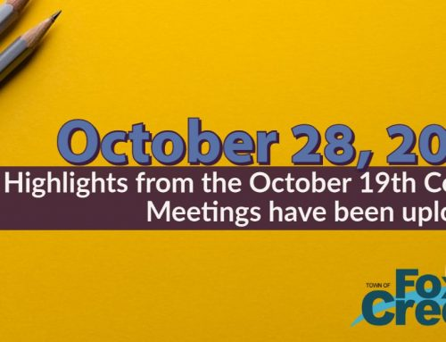 Council Highlights: October 19, 2020