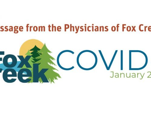 A Message from the Physicians of Fox Creek