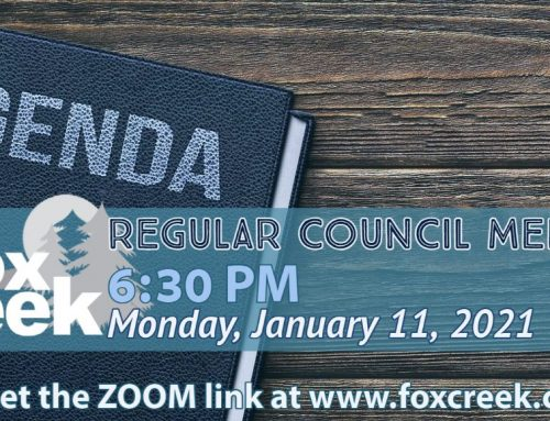 The January 11th Council Meeting Agenda is now uploaded